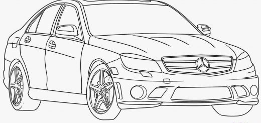 car drawing 4